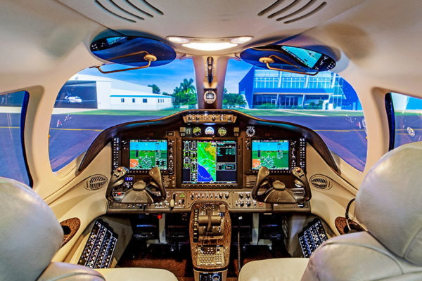Citation Mustang 510 Simulator Training