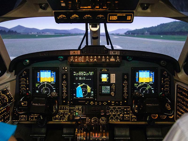 Flight_Options_Kingair_simulator